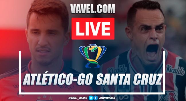 Gols e melhores momentos Atlético-GO 1x1 Santa Cruz (P: 4x3) pela Copa do Brasil 2020