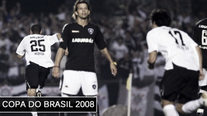 Há 9 anos, o Botafogo jogava, pela última vez, uma semifinal de Copa do Brasil
