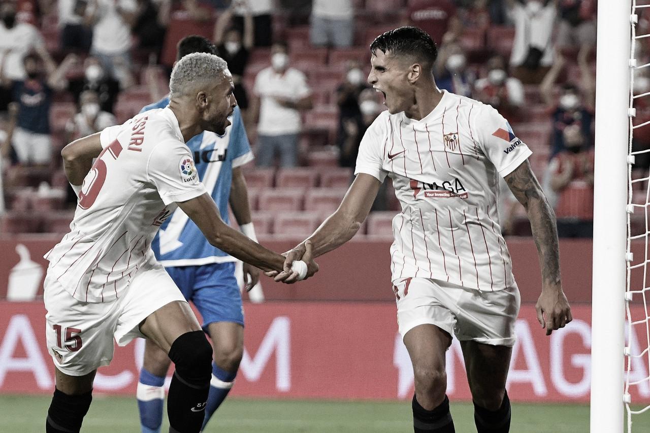 Sevilla FC - Rayo Vallecano; puntuaciones de la jornada 1 de LaLiga Santander