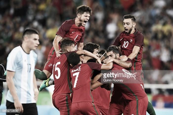 Portugal Olímpico vence  Argentina: Paciência rumo às medalhas