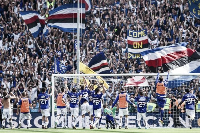 Sampdoria: ripresa settimanale in vista dell'Atalanta