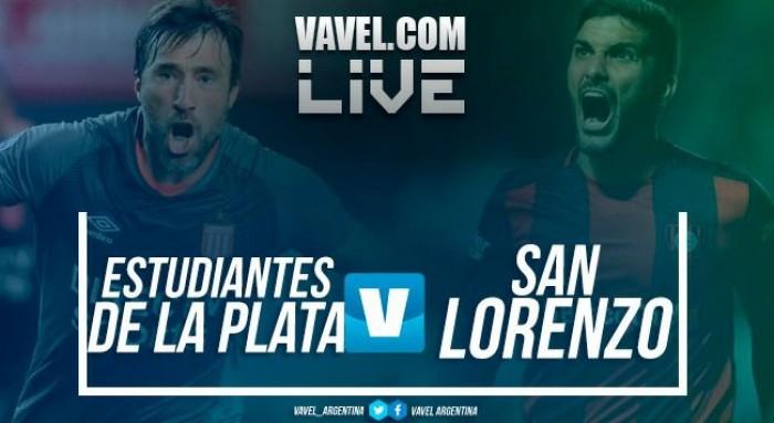Resultado de Estudiantes vs San Lorenzo por la cuarta fecha de la Superliga (1-3)