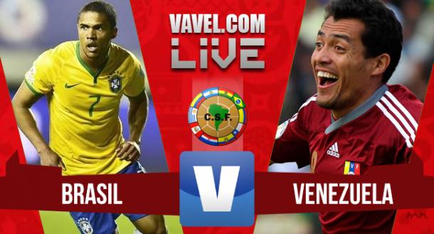 Resultado Brasil vs Venezuela en Eliminatorias Mundial Rusia 2018 (3-1)