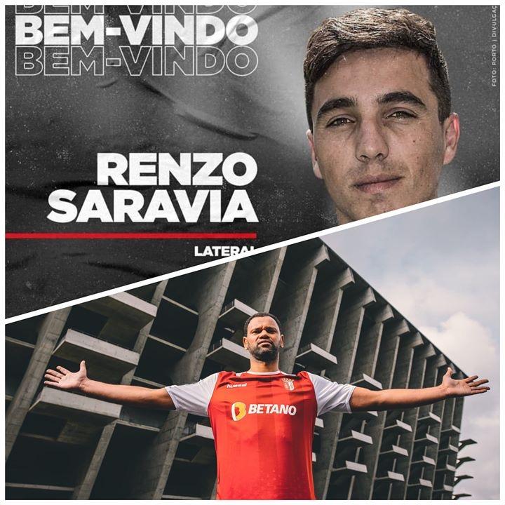 Alterações no FC Porto e SC Braga