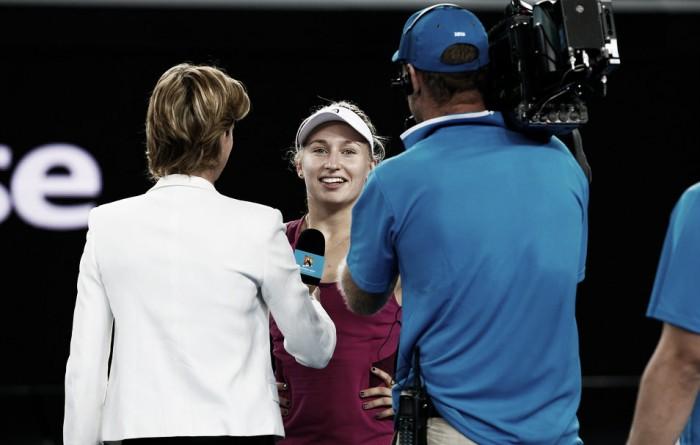 """Daria Gavrilova: """"Sabía que podía ganar a Kvitova"""""""