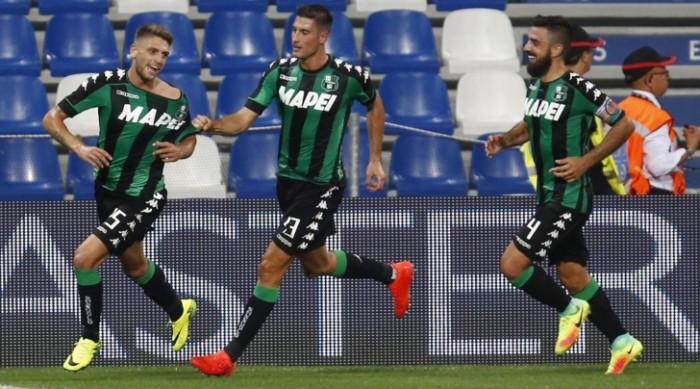 Europa League - Super Berardi trascina il Sassuolo, 3-0 al Lucerna. Ora il playoff