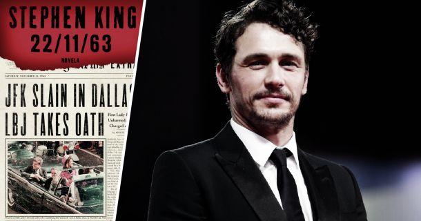 James Franco será el protagonista de '22/11/63', la serie basada en el libro de Stephen King