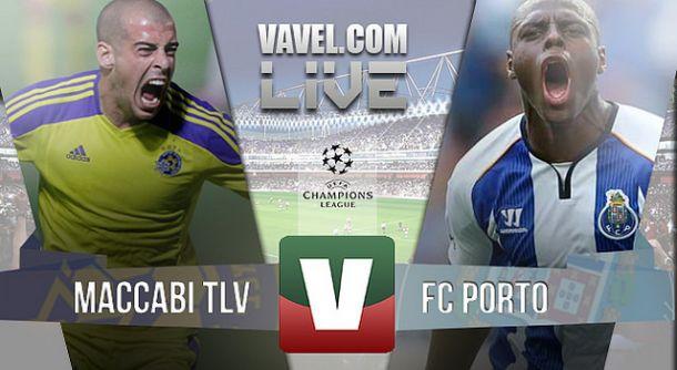 Resultado Maccabi Telavive x Porto na Liga dos Campeões (1-3)