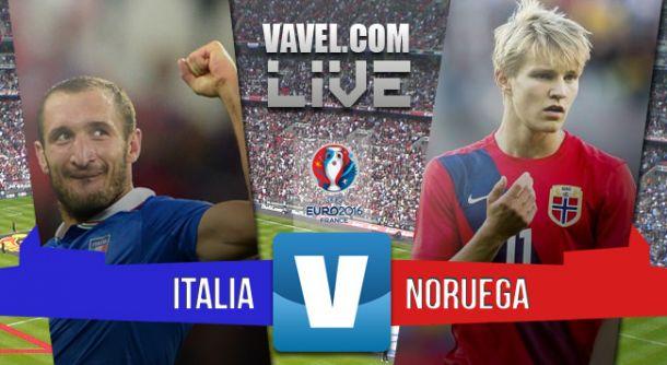 Resultado Italia vs Noruega en Clasificación Eurocopa 2016 (2-1)