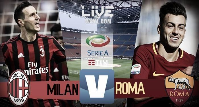 Resultado Milan x Roma pela Serie A 2017/18 (0-2)