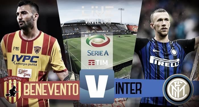Risultato Benevento - Inter in diretta, LIVE Serie A 2017/18 - Brozovic (2), D'Alessandro! (1-2)
