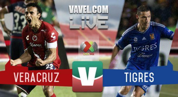 Resultado Veracruz - Tigres en Liga MX 2015 (1-3)