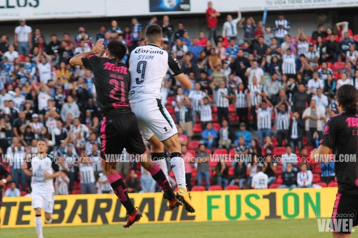 Resultado del Rayados Monterrey vs Querétaro en Copa MX 2018 (1-1) (2-3)