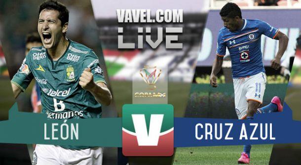 Resultado León - Cruz Azul en Copa MX 2015 (2-0)