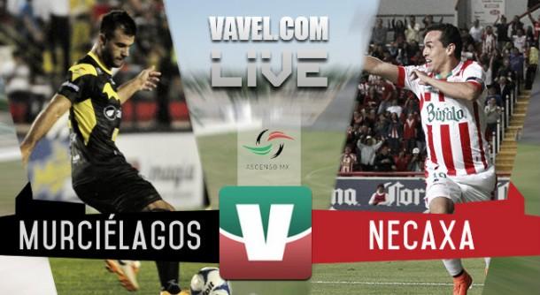 Resultado Murciélagos FC - Necaxa en Ascenso MX 2015 (2-1)