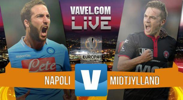 Resultado Nápoles - Midtjylland en Europa League (5-0): como un tiro a dieciseisavos