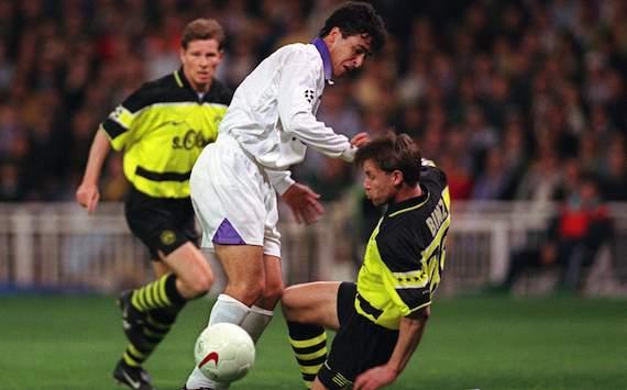 Serial Borussia Dortmund - Real Madrid: 1997/98, Morientes y Karembeu marcan el rumbo de la eliminatoria