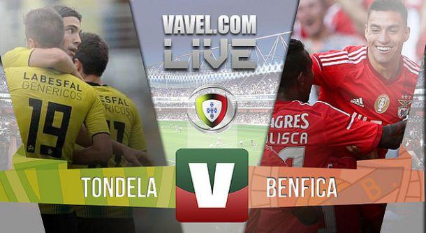 Resultado Tondela x Benfica na Liga NOS (0-4)