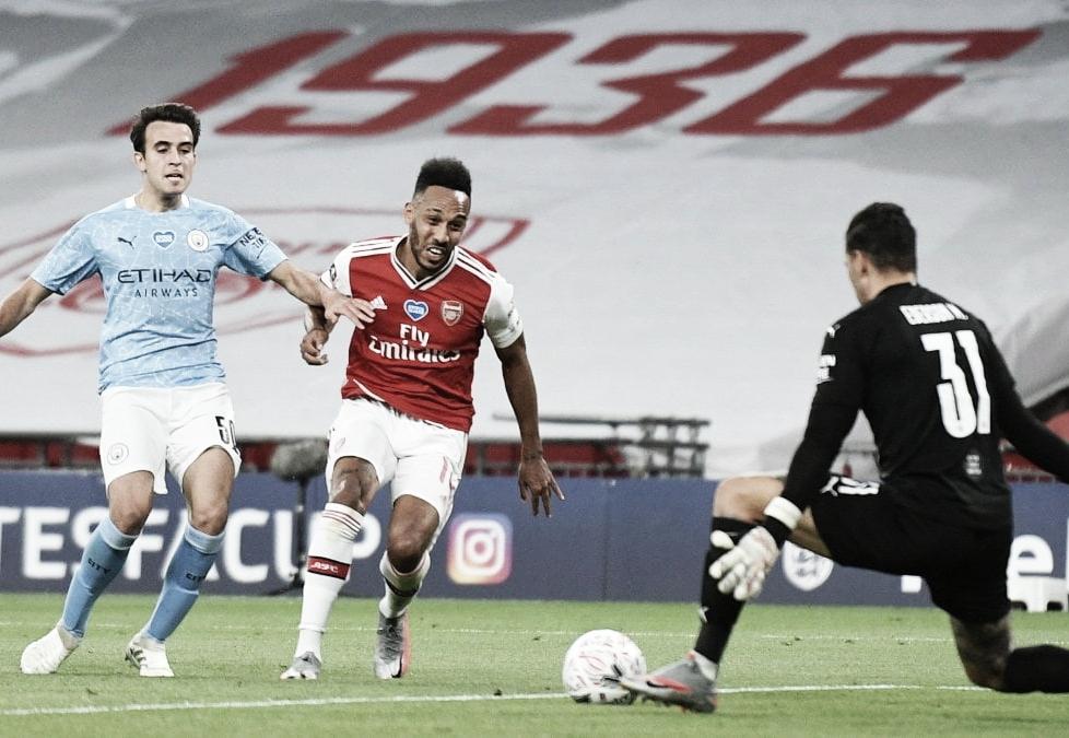 Resumen Manchester City 1-0 Arsenal en Premier League 2020