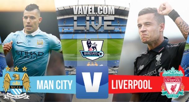 Resultado Manchester City x Liverpool no Campeonato Inglês 2015/2016 (1-4)
