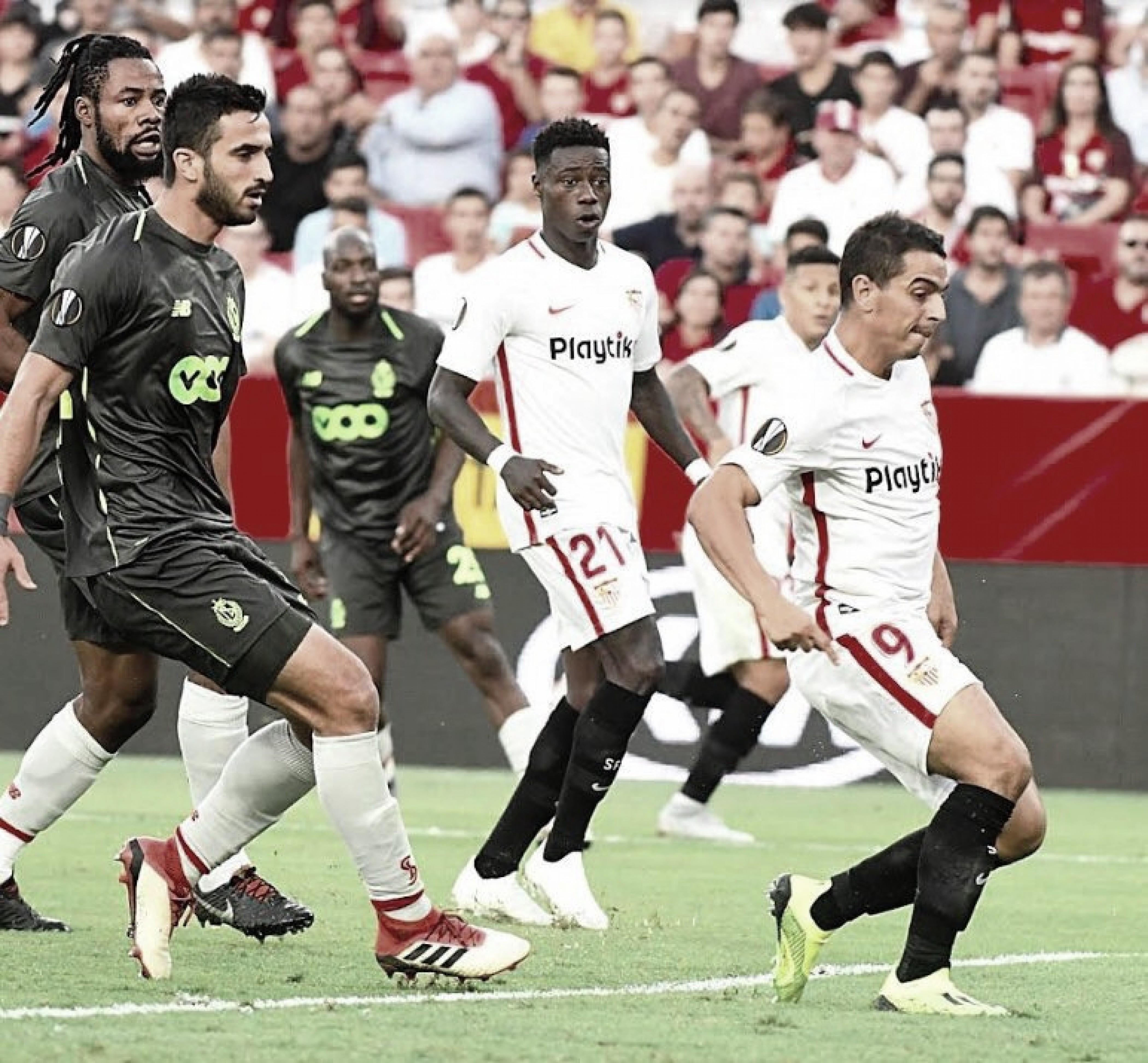 Com pé direto! Sevilla vence Standard Liège com goleada na estreia da Europa League