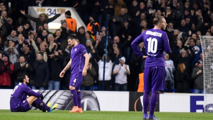 Europa League, sprofondo Viola a White Hart Lane: 3-0 e Tottenham agli ottavi