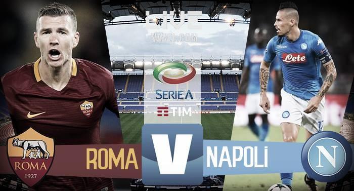 Roma - Napoli in diretta, LIVE Serie A 2017/18 (0-1): Insigne regala i tre punti!