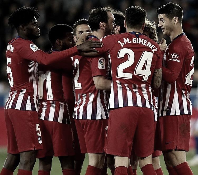 Atlético de Madrid goleia Alavés fora de casa pelo Campeonato Espanhol