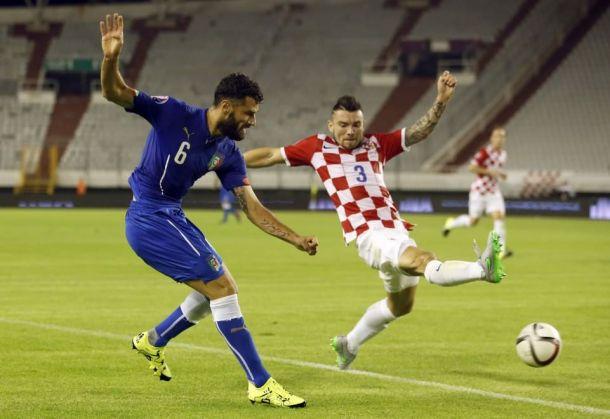 La Croatie et l'Italie dos à dos