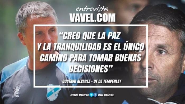 """Gustavo Álvarez: """"Creo que la paz y la tranquilidad es el único camino para tomar buenas decisiones"""""""