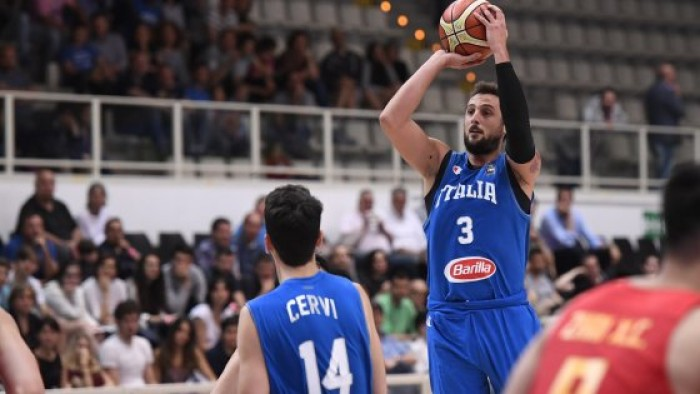 Basket, L'Italia si mangia le Filippine, a Bologna finisce 106-70