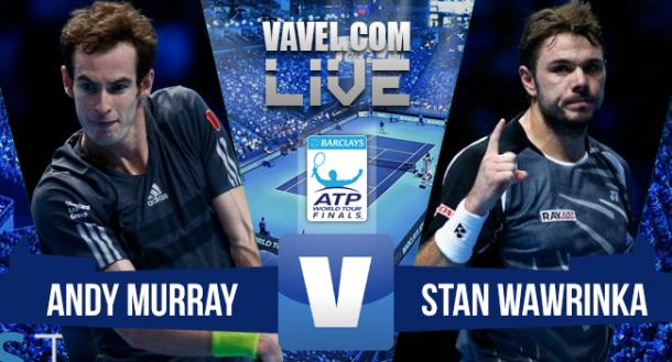 Jogo Andy Murray x Stan Wawrinka no ATP Finals 2015 (0-2)