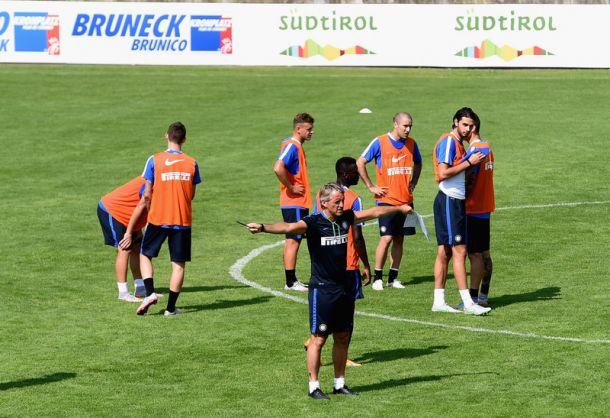 Inter, Mancini studia nuove soluzioni