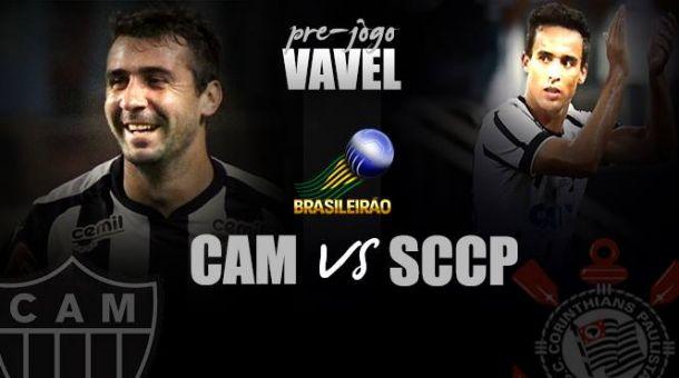 """Pré-jogo: Em """"decisão antecipada"""", Atlético-MG e Corinthians se enfrentam no Independência"""