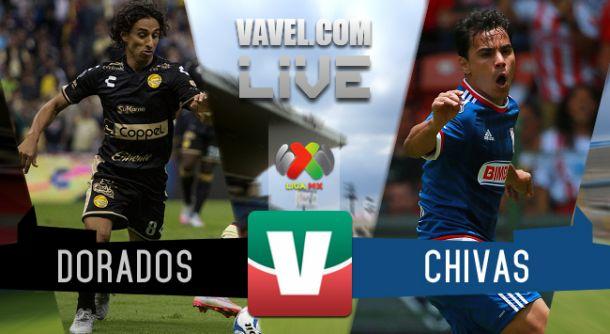 Resultado Dorados - Chivas en Liga MX Apertura 2015 (2-1)