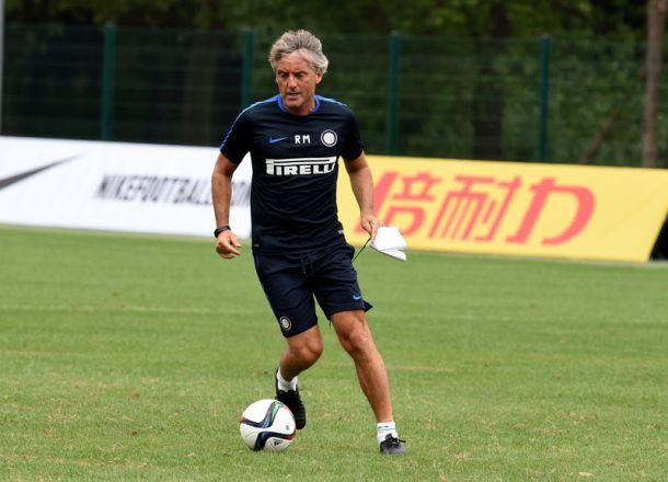 """Inter, Mancini: """"Importante giocare a livello alto"""""""