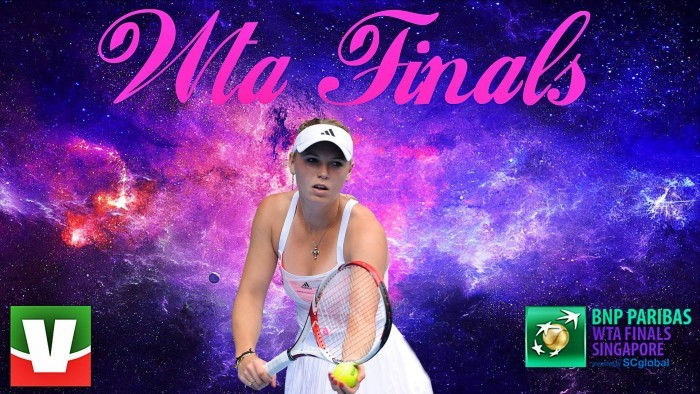 Wozniacki show con la Halep, Svitolina batte Garcia — WTA Finals
