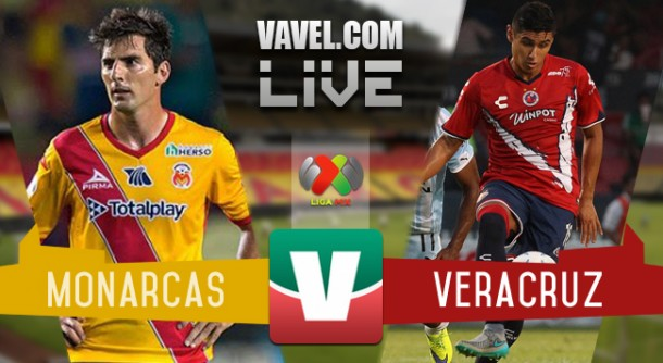 Resultado Morelia - Veracruz en Liga MX 2015 (1-2)