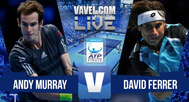 Jogo Andy Murray x David Ferrer no ATP Finals 2015 (2-0)