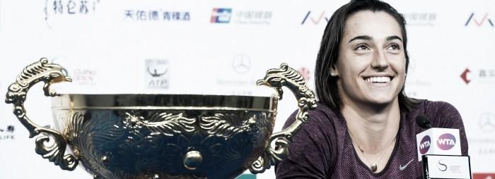Garcia surpreende Halep na final de Pequim e conquista seu segundo título em duas semanas