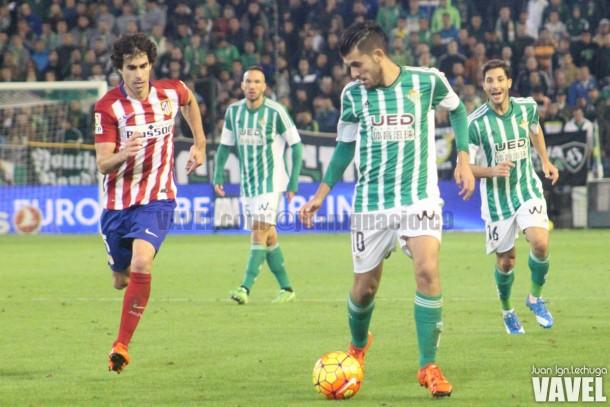 Real Betis - Atlético de Madrid: puntuaciones Betis, jornada 12