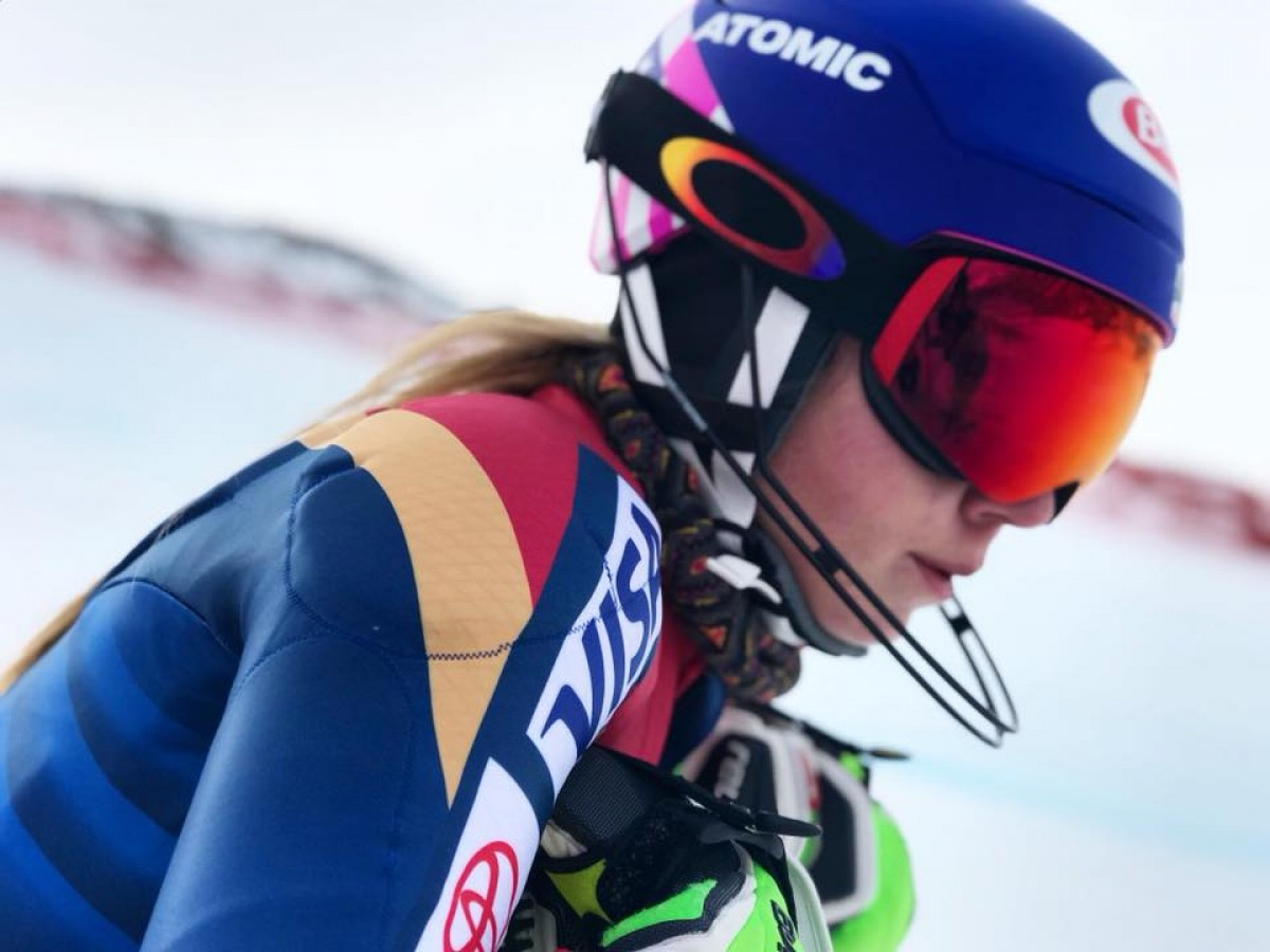 Sci alpino, Are - Slalom speciale femminile: recita solitaria di Mikaela Shiffrin