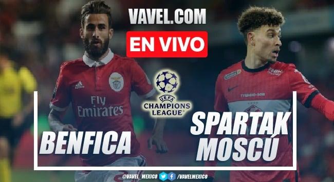 Goles y resumen del Benfica 2-0 Spartak Moscú en ronda de clasificación UEFA Champions League