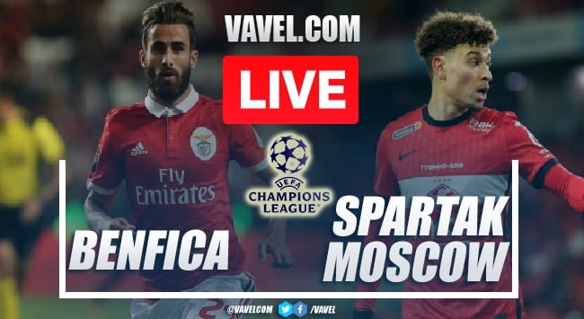 Goals and Highlights: Benfica 2-0 Spartak Moscow in UEFA Champions League qualifying round