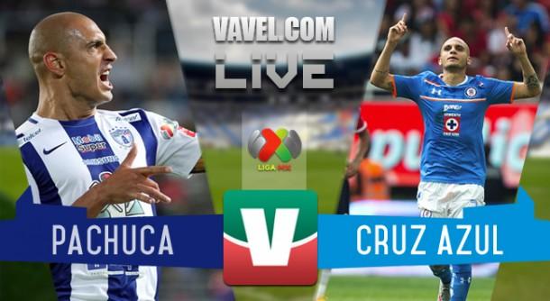 Resultado Pachuca - Cruz Azul en Liga MX 2015 (1-2)