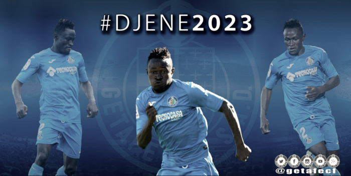 Djené será azulón hasta 2023