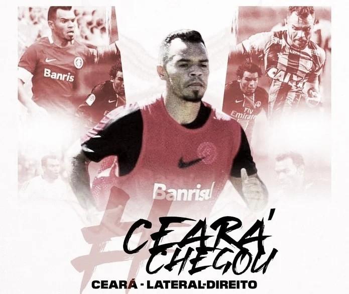 Após aposentadoria, Ceará retorna ao futebol em time da terceira divisão mineira