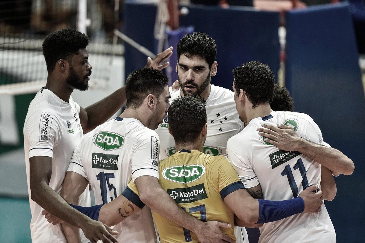 Isac brilha, Sada Cruzeiro vence Maringá e vai às semis da Superliga