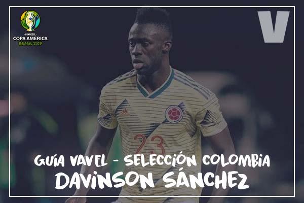 Guía VAVEL, Cafeteros en la Copa América: Davinson Sánchez
