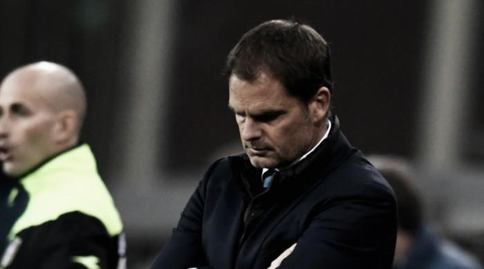 Ameaçado na Inter, De Boer se mostra confiante para reverter fase ruim
